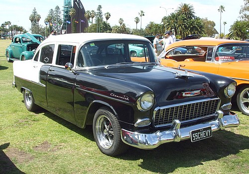 1955 Chevy 2 Door Sedan
