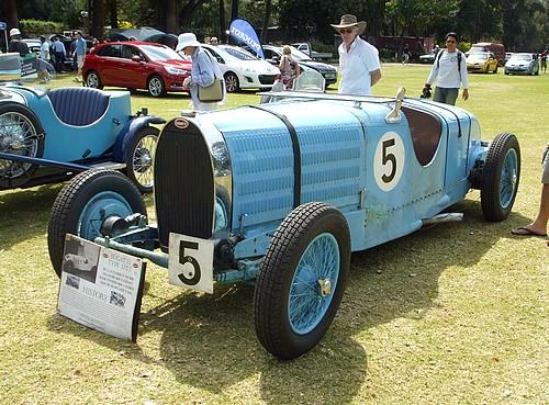 Bugatti Type 57TT front view