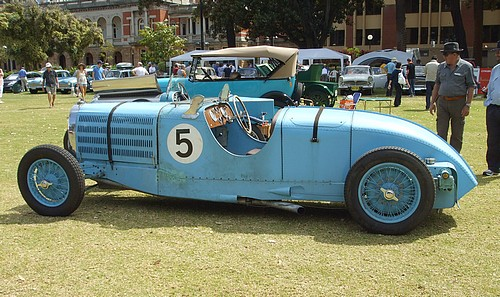 Bugatti Type 57TT side view