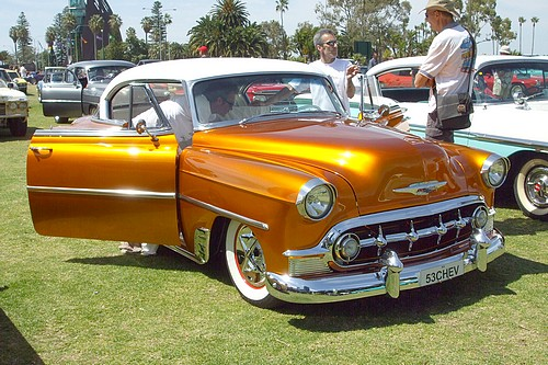 The Golden 1953 Chev Bel Air