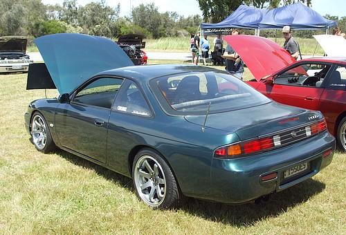 Nissan Silvia Green