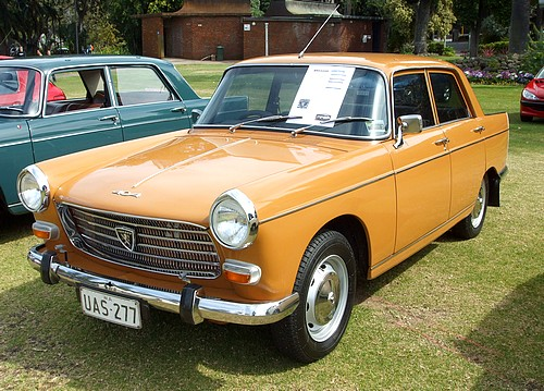 1970 Peugeot 404 owned by Gordon Hort