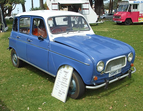 1962 Renault R4L