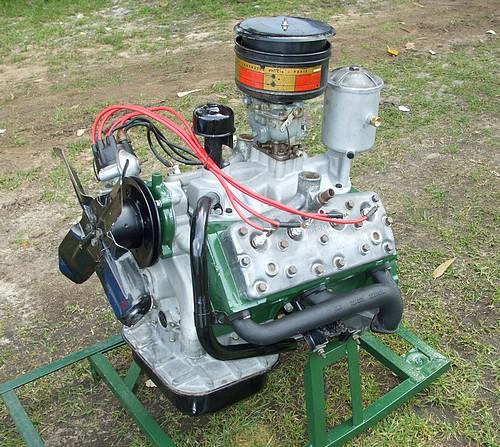 Simca flathead V8 egine Aquillon