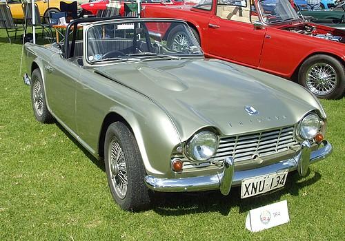 Triumph TR4 Silver