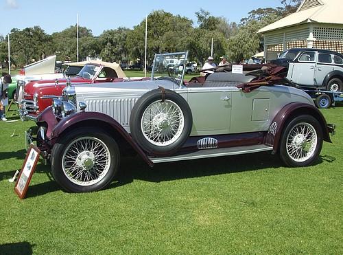 1927 Vauxhall 20/60 'R' Model