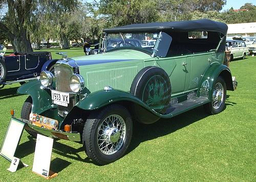 1933 Vauxhall VX Tourer