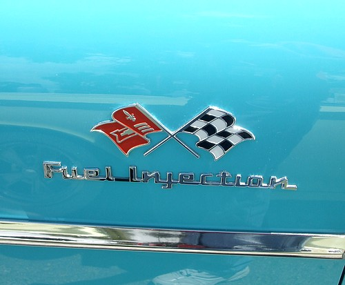1957 Chevy Fuel Injection Badge