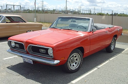 1969 Plymouth Barracuda Convertible