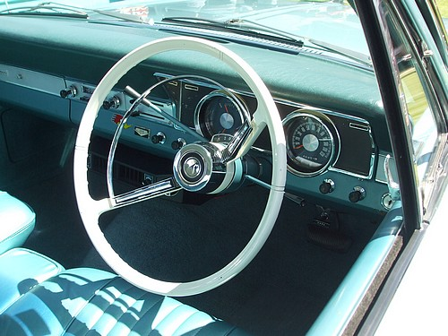 XR Falcon interior