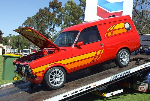 Ford Escort Sundowner Panel Van