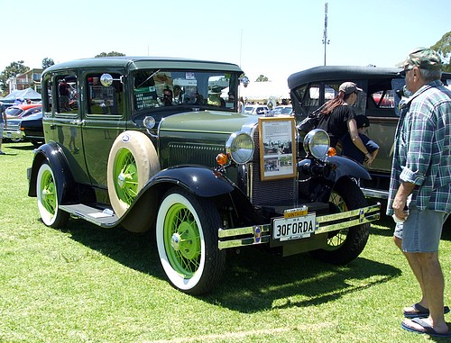 1930 Model A Ford Murray Body Fordor Sedan