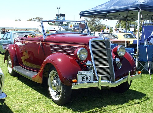 1935 Ford V8 Convertible