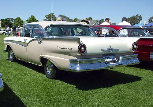 1957 Ford Fairlane 500 Town Sedan