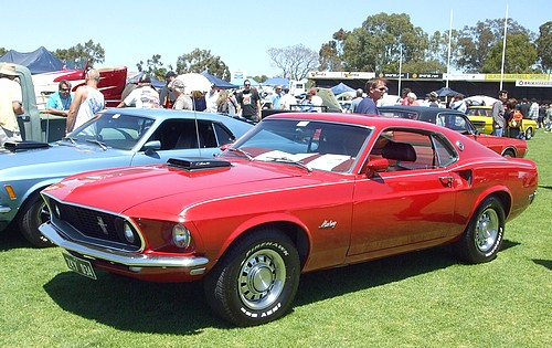 1969 Ford Mustang with 428 Cobra Jet