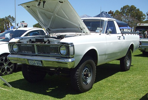 4 Wheel Drive XY Falcon Ute