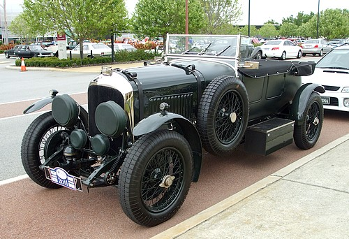 Vintage Bentley Tourer