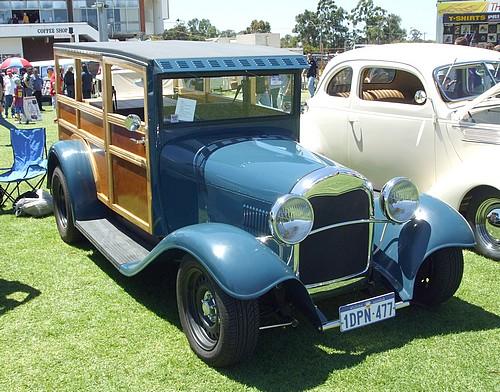 Ford Model A 150B Station Wagon