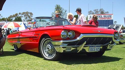 Red 1965 T-Bird