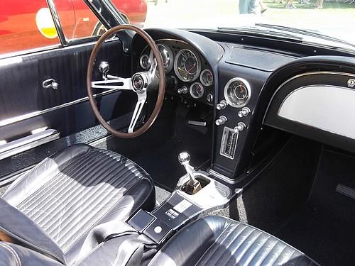 1964 Corvette interior
