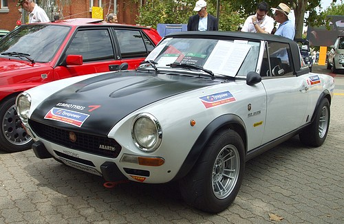1972 FIAT Abarth 124 Sport Spider Rally