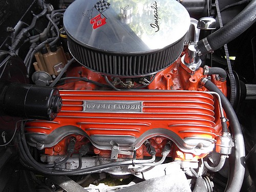 1958 Chevy Impala engine