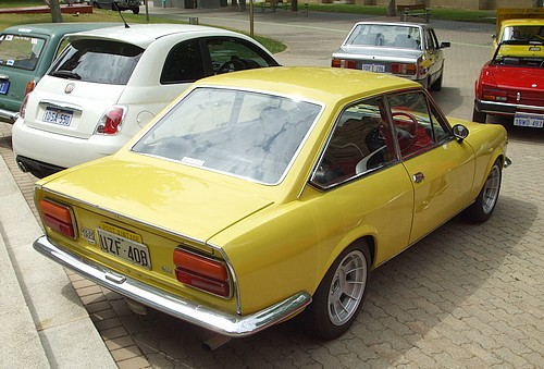 FIAT 124 Sport BC rear view