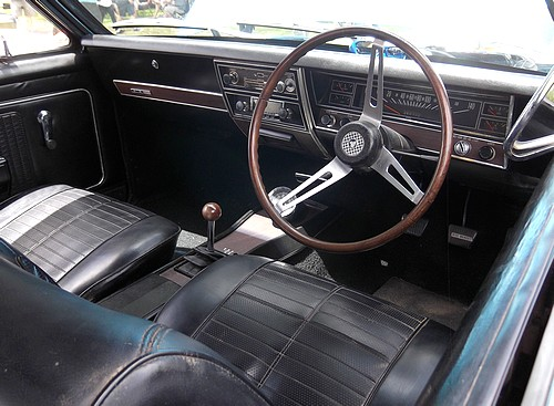 Interior of the HK monaro