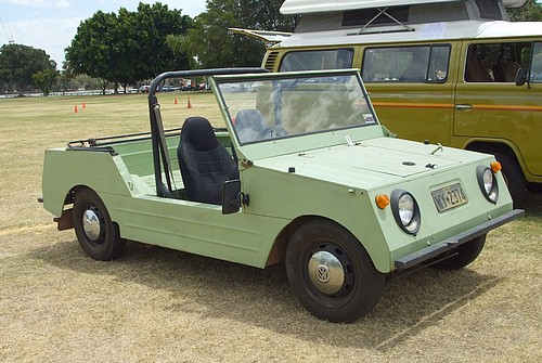 VW Country Buggy in light green