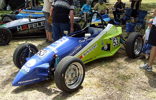 Formula Vee - Regular racing is held at Barbagallo Raceway