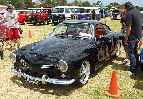 Sexy Black Karman Ghia