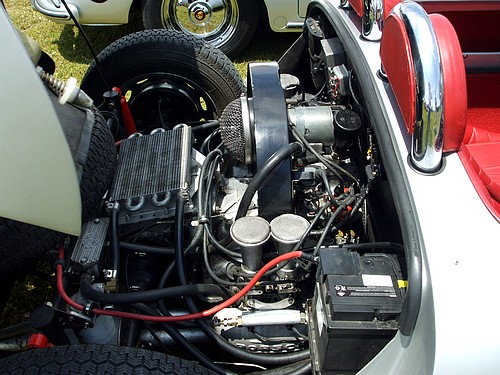 Porsche 550 Spyder engine