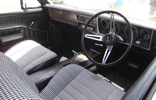 Interior of the South African Chevrolet SS