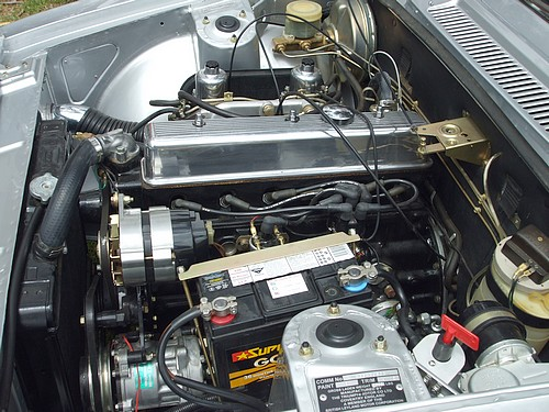 Triumph 2500TC engine