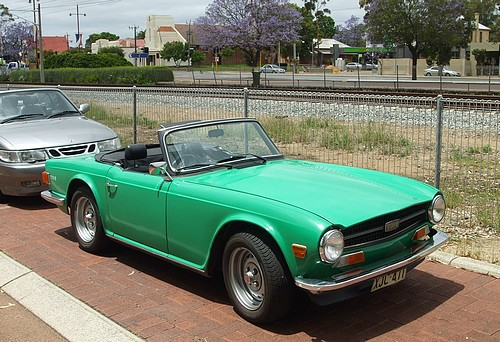 Triumph TR6 injection