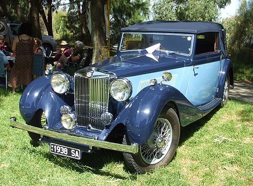 1938 MG SA Tickford
