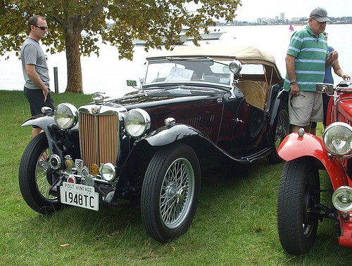 1948 MG TC Black