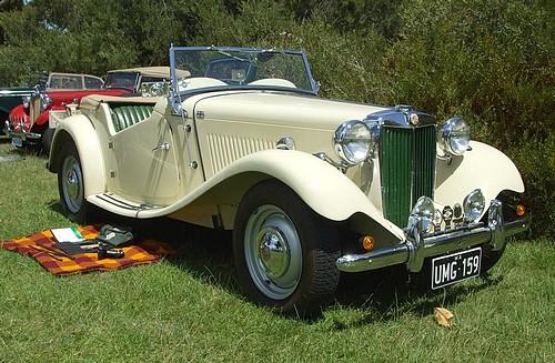 1949 MG TD Midget