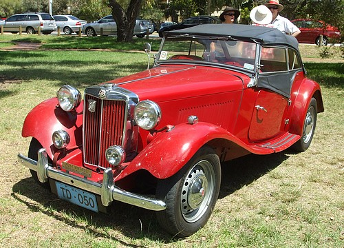 1950 MG TD Midget
