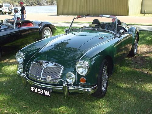 1959 MGA Green 1600