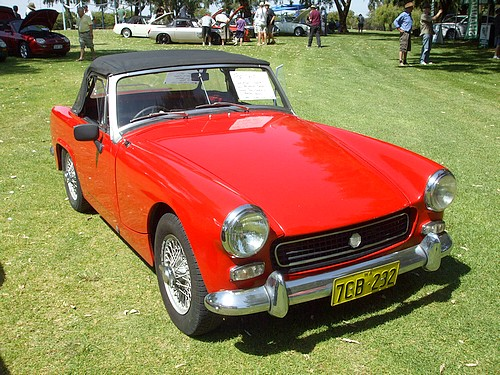 1967 MG Midget with 1275cc A series motor