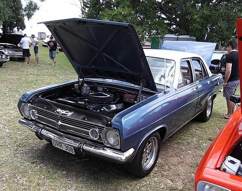 HR Holden with V8