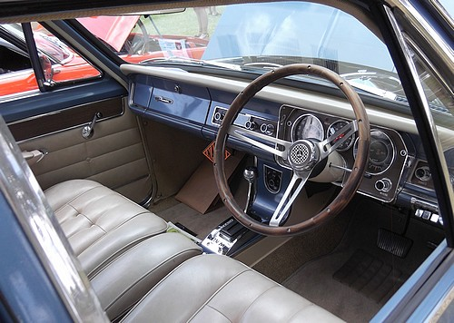 Interior of the HR Holden