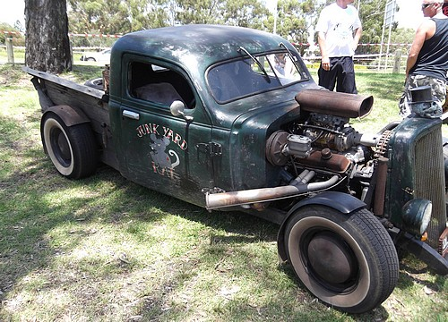 Another 'Junk Yard Rat' Rod - DLVRNCE