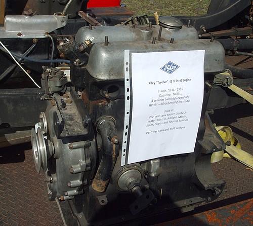 Riley 12 engine