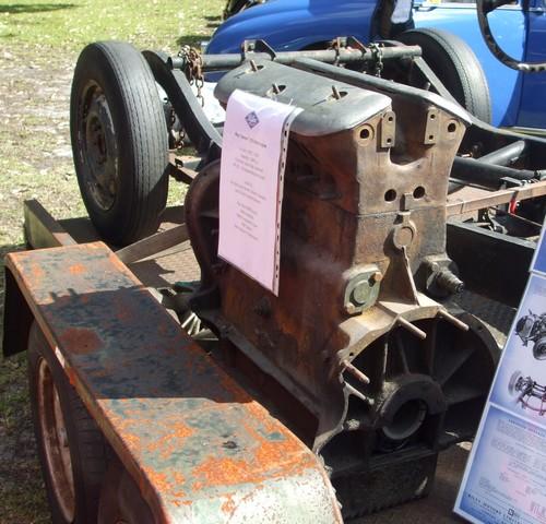 Riley 16 engine