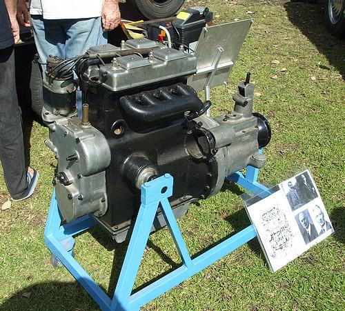 Riley Nine engine