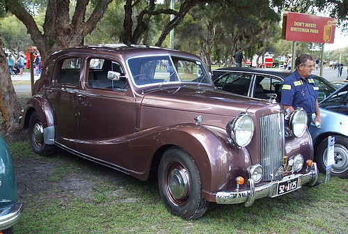 1952 Austin A125 Sheerline