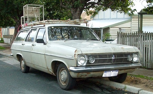 HR Holden Wagon 186 Workhorse
