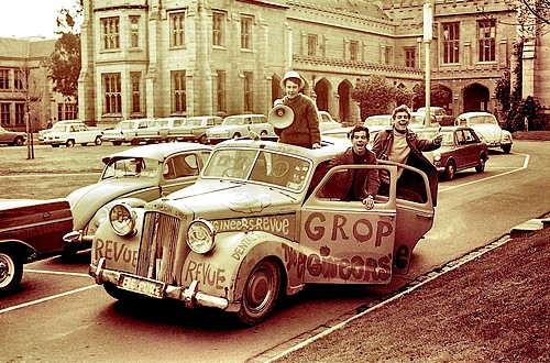 Austin A125 Sheerline at Melbourne University 1960's